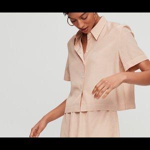 Aritzia Babaton Elwood shirt sz xxs